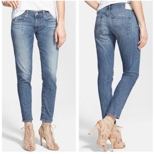 AG The Nikki Crop Relaxed Skinny Jeans